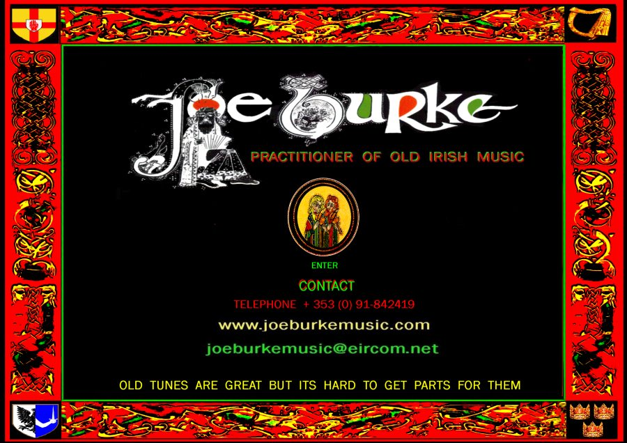 CLICK TO ENTER JOE BURKE MUSIC